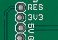 Traces on PCB