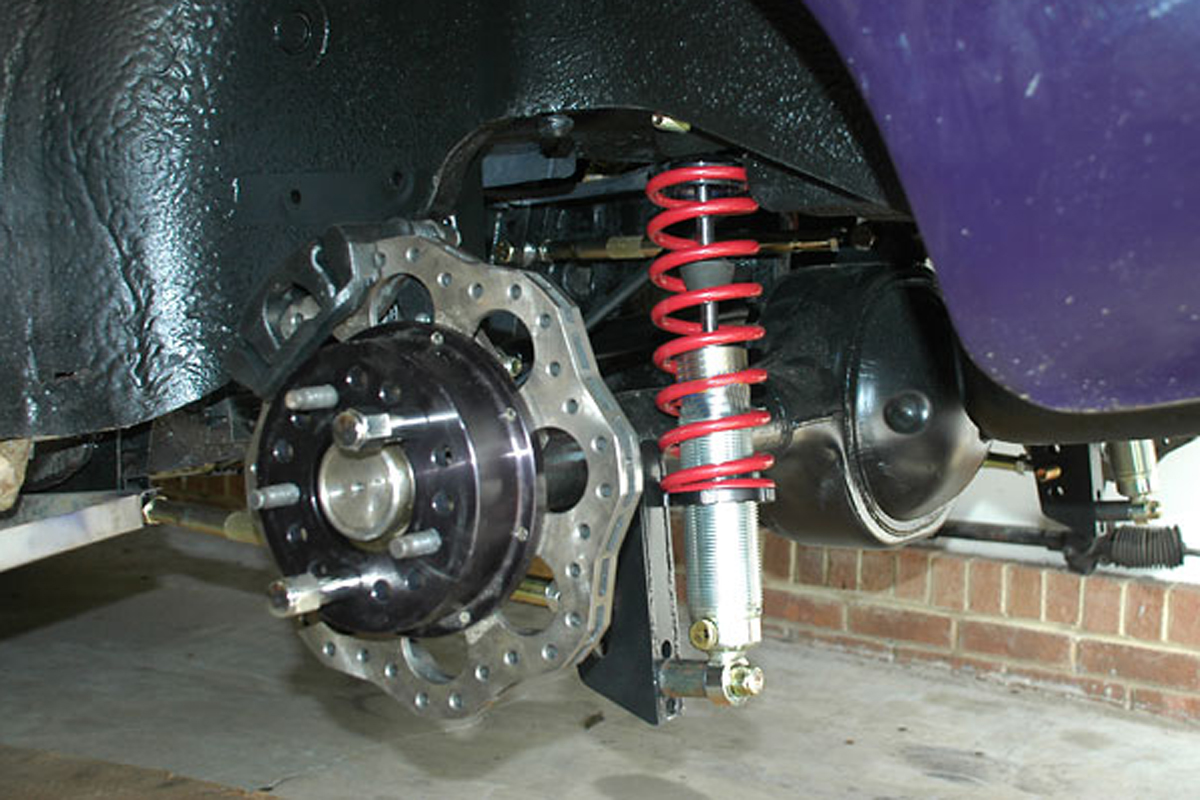 Choosing Coilover Springs For The Rear Suspension