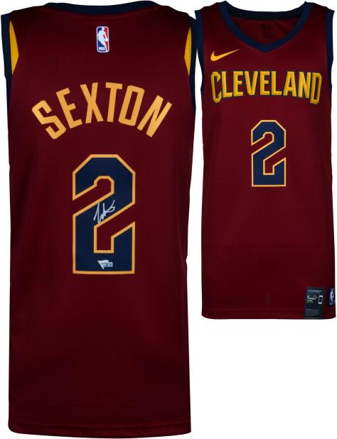 Collin Sexton Cleveland Cavaliers Autographed Nike Red Swingman Jersey -  Fanatics Authentic Certified ... 293477b13