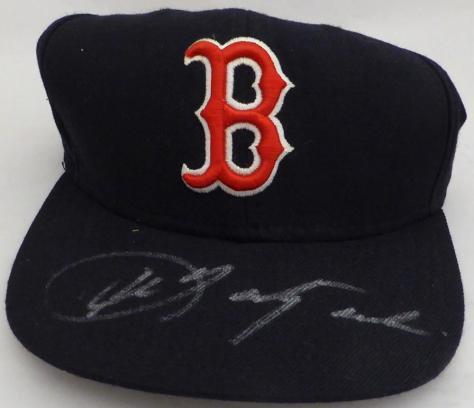factory price ee8d0 d7e97 Carl Yastrzemski Autographed Boston Red Sox Hat Beckett BAS  E46374 -  Beckett Authentication ...