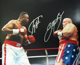 Larry Holmes Boxing Memorabilia, Autographed & Signed ...