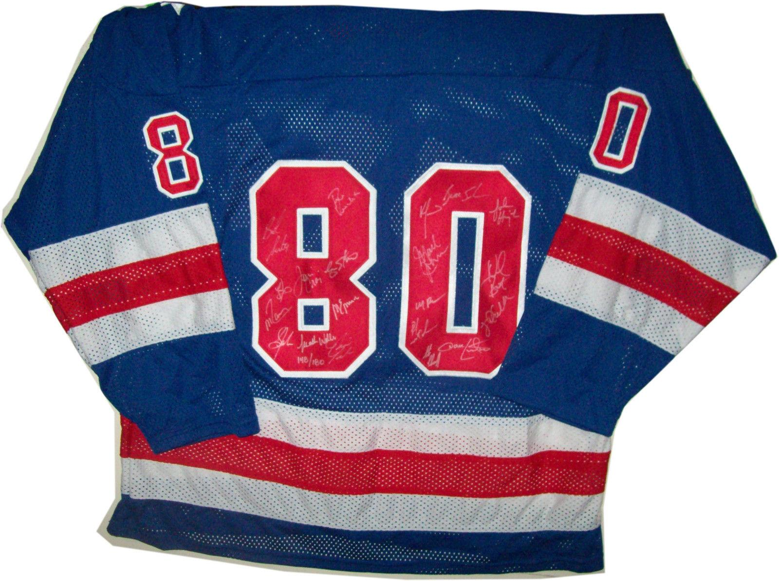 Usa Olympic Hockey Miracle Team Signed Jersey All 20