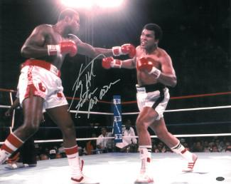 Signed Holmes Photo - 16x20 vs Ali w Easton Assassin under ...