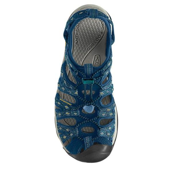 Keen Whisper Womens Navy Blue Water Resistant Walking ...