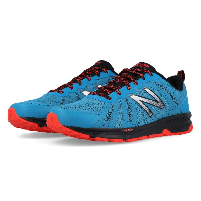 New Balance Mens 590v4 Trail Running Shoes Trainers Blue Sports Breathable