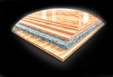 VIP hardwood system by Connor Sports