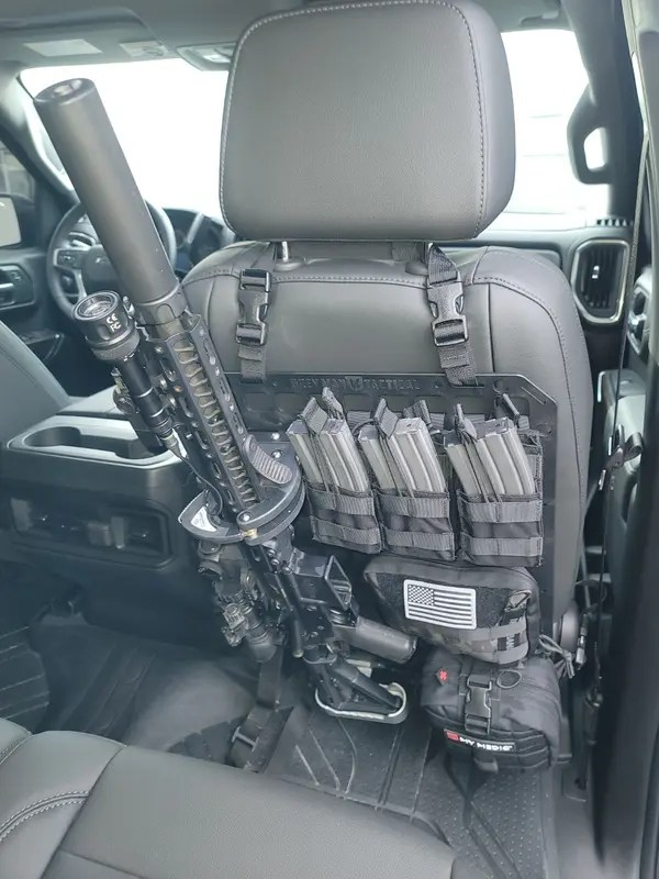 vehicle locking rifle rack sc 6 mount