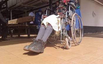 KCPE candidate left paralysed after teachers' beating