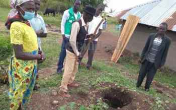 Locals bury goat's blood after body of granny is exhumed