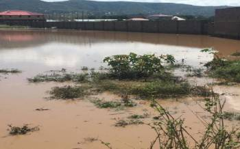 Over 18 families displaced by floods in Suba South