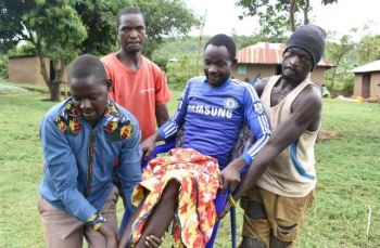Student paralysed in gold mine mishap