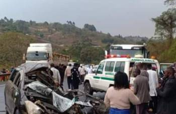 Two students perish in grisly road accident