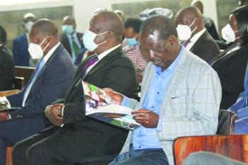 Eight shades of Nyachae on display at his funeral service