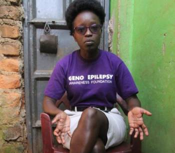 Shunned at work, woman now turns to epilepsy drive