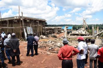 Questions abound over fatal collapse of mortuary