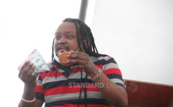 Activist faces charges over Uhuru poster in IMF rage