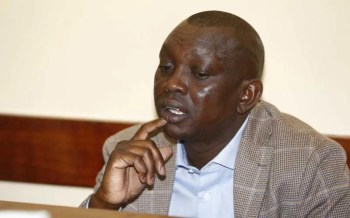 Lawmaker Oscar Sudi gagged over hate speech