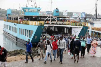 Likoni ferry commuters ordered to use new bridge