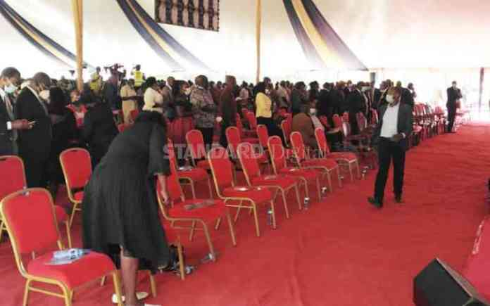 Hosea Kiplagat's Burial Ceremony Underway In Baringo [Photos]