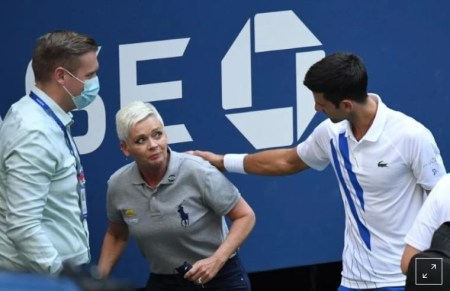 Novak Djokovic Defaulted from U.S. Open After Hitting Lineswoman with Tennis Ball
