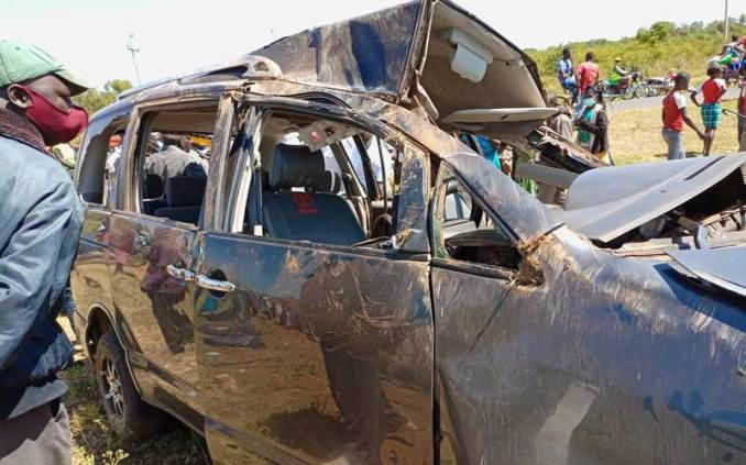 Four family members die, three others injured in road crash