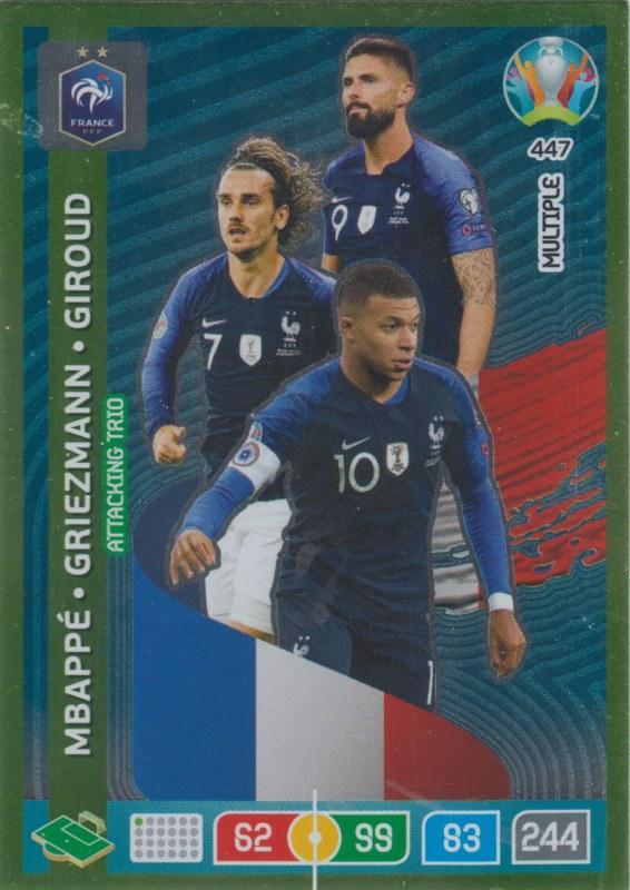 Playmaker prancis, antoine griezmann memiliki peluang menjadi top assist di ajang euro 2020. Adrenalyn Euro 2020 - 447 - Kylian Mbappé, Antoine ...