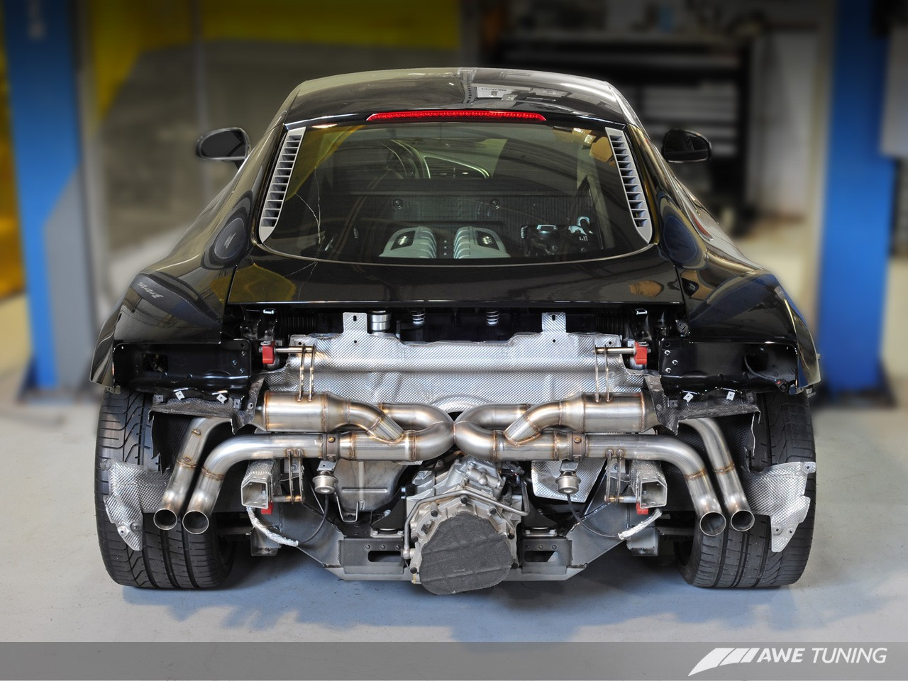 audi r8 v10 spyder switchpath exhaust awe tuning