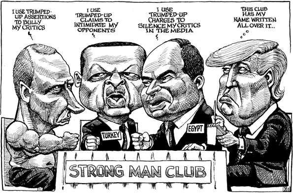 Image result for trump's men cartoon