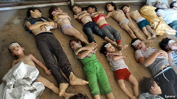 Syria's war: A sad anniversary   The Economist