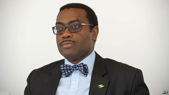 Image result for President, African Development Bank, Mr. Akinwumi Adesina