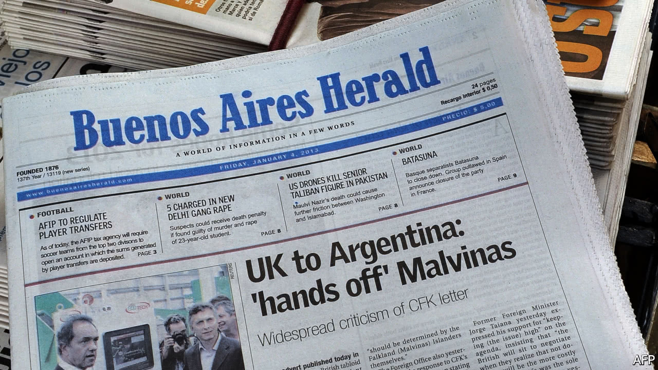 Why English Language Newspapers In Latin America Are