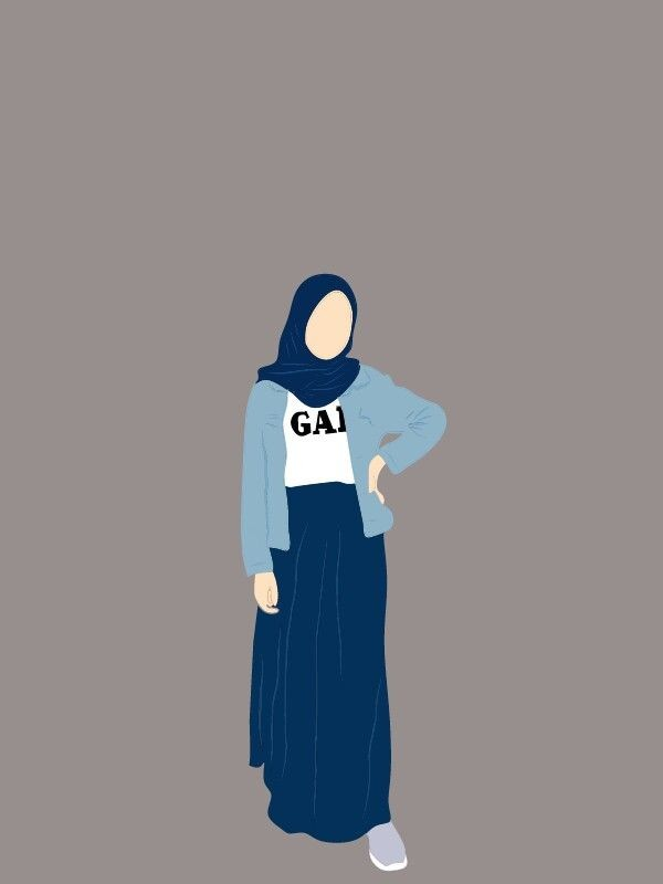Check out this fantastic collection of anime hijab wallpapers,. Gambar Cewek Hijab Kartun Aesthetic Terbaru Gratis Hallyuid