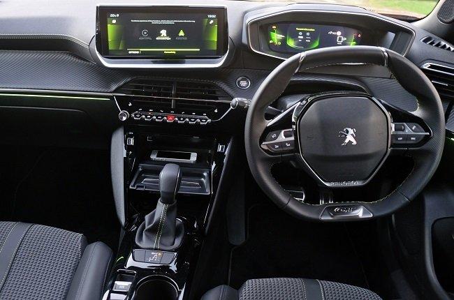 2021 Peugeot 2008 interior