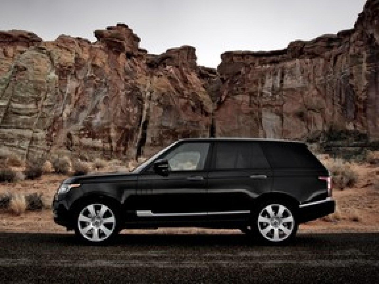 A 2013 Land Rover Range Rover