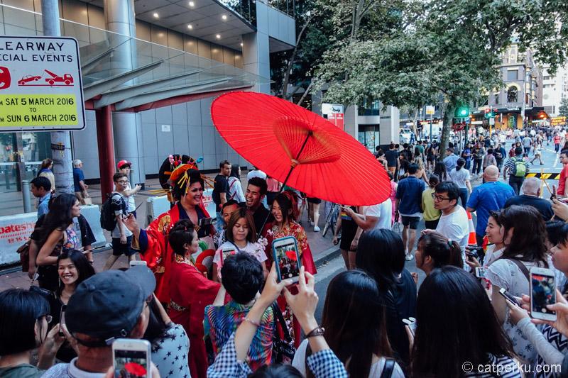 Ada orang jepang nyasar ke Sydney di acara Mardi Gras