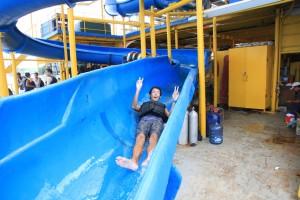 44 M water sliding