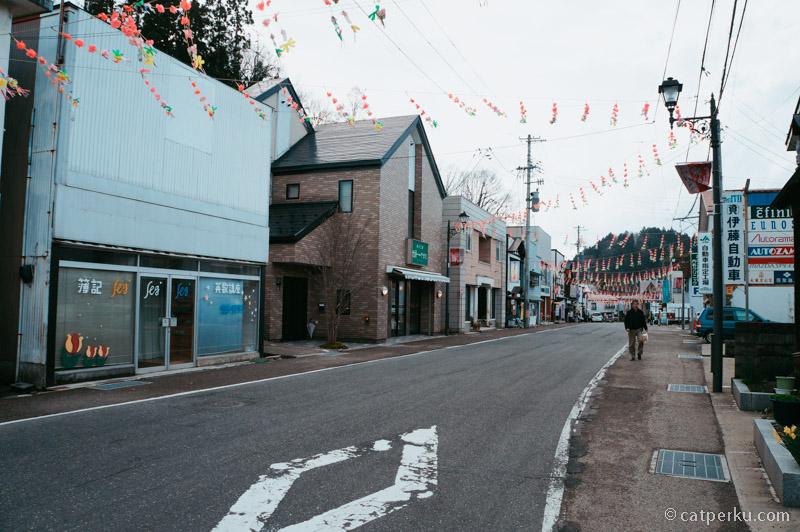 Ini kota kecil di Jepang, tapi menyenangkan untuk dikunjungi.