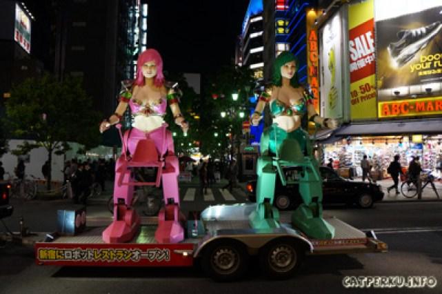 Robot aneh di Jepang! Ada yang mau naik nih