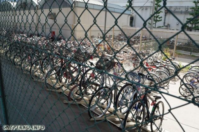 Sepeda masih banyak digunakan di Jepang