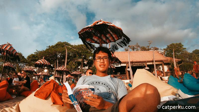 Kalau lagi liburan di Bali, dan pengen nyantai banget, saya pasti main kesini.