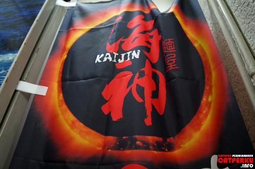 """""""Kaijin"""" Warung Ramen halal inilah yang memberi saya kesempatan untuk merasakan makanan khas Jepang yang enak ketika dimakan hangat - hangat."""