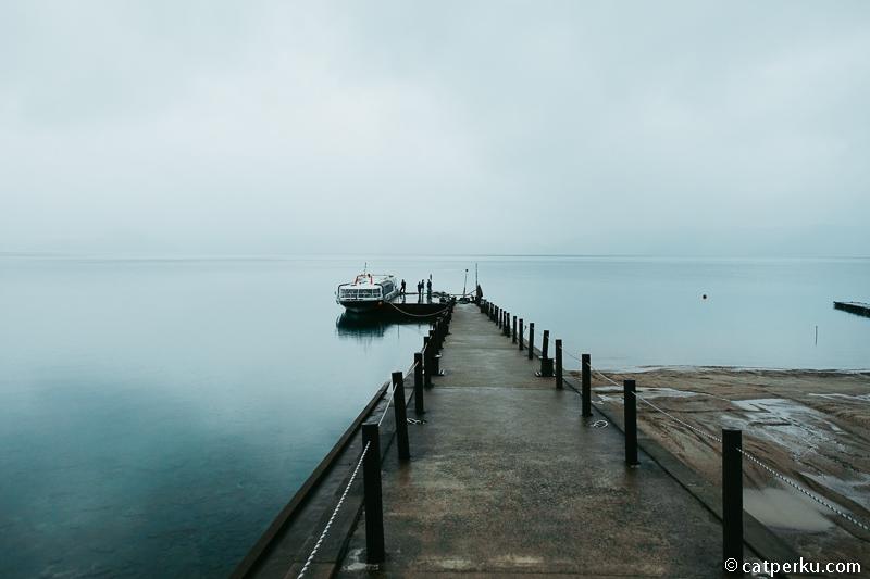 Naik Perahu Di Danau Tazawa, Danau Terdalam Di Jepang!