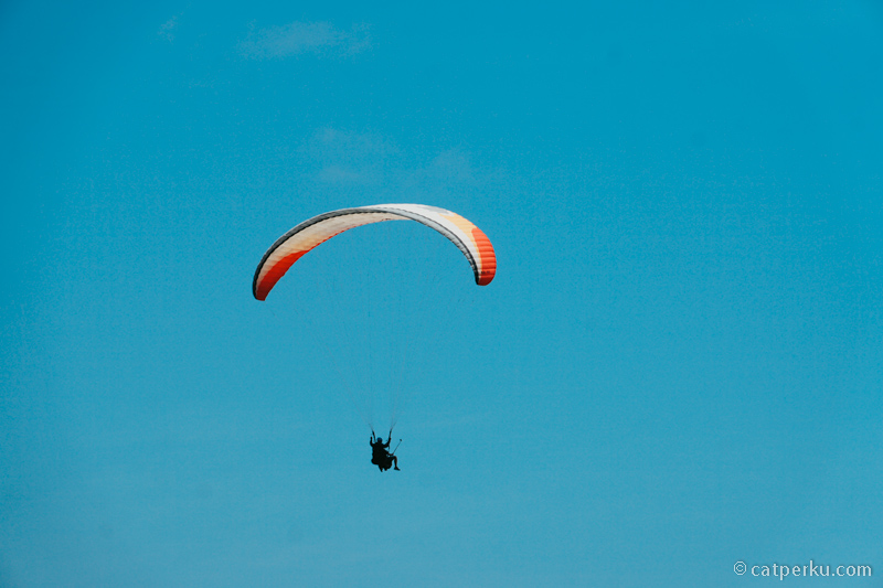 Olahraga ekstrim seperti ini juga bisa dicoba kalau liburan ke Bali!