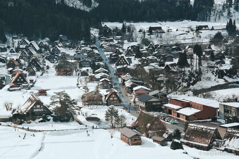 Pesona Magis Musim Dingin Jepang Di Shirakawa-go