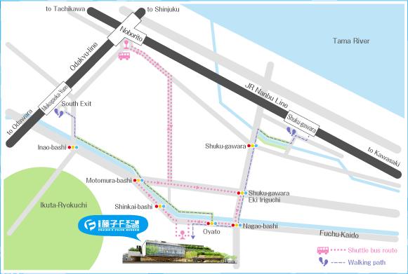 Peta Lokasi Museum Fujiko F Fujio