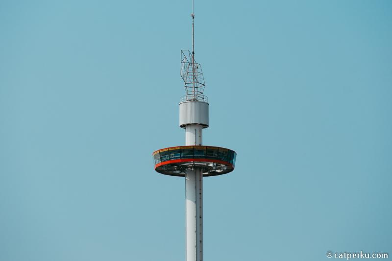 Puncak Menara Taming Sari.