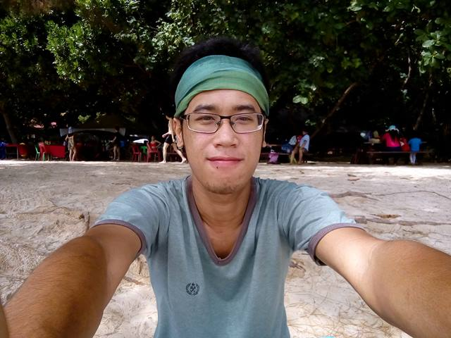 Traveler Pemula jangan lupa selfie di Pulau Sapi~