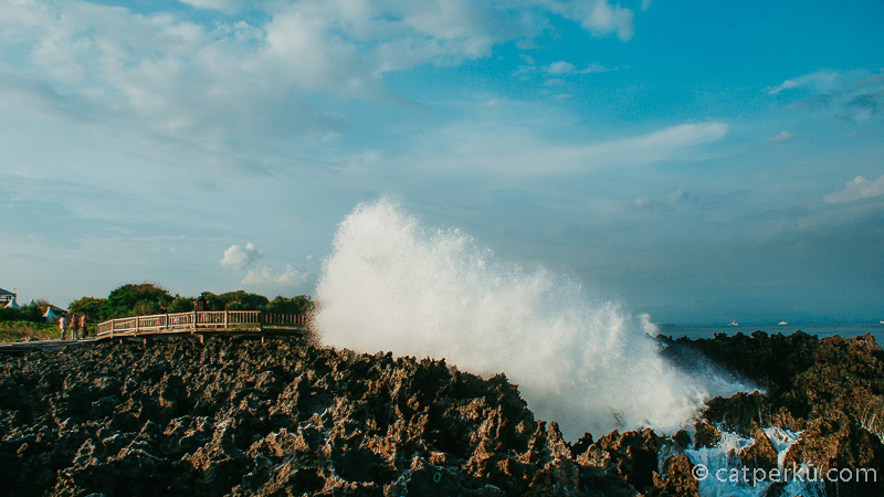 Water Blow Nusa Dua Bali, tempat di mana air laut bisa melompat tinggi ini selalu membuat saya kagum :D