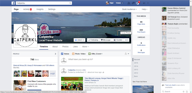 Akun Facebook catperku