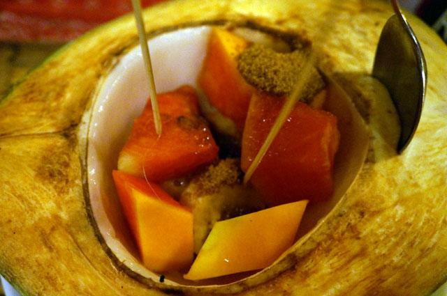 Kalui resto desert, coconut plus - plus!